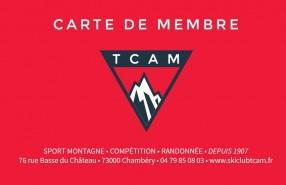 TCAM_Carte de membre